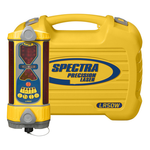 Spectra Precision LR50W-2 Wireless Receiver with NiMH Rechargeable Batteries and Carrying Case