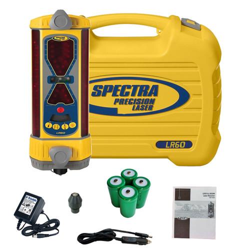 Spectra Precision LR60 Laser Machine Display Receiver (NiMH)