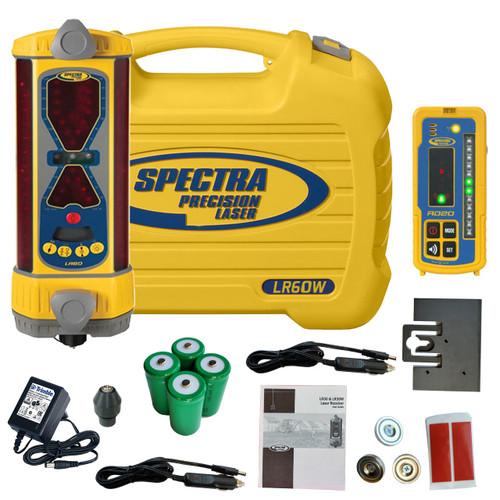 Spectra Precision LR60W Laser Machine Display Receiver (NiMH) RD20 Wireless Remote Display