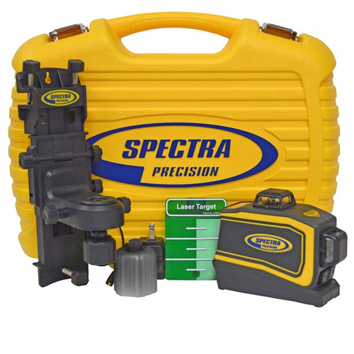Spectra Precision LT58 Universal Laser Layout Tool with Green and Red Beams