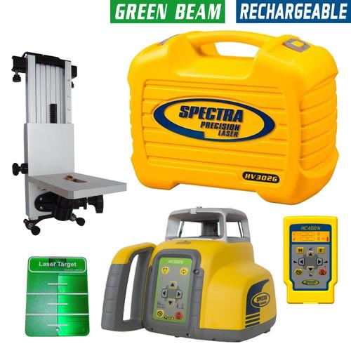 Spectra Precision HV302G-1 Green Beam Laser Package