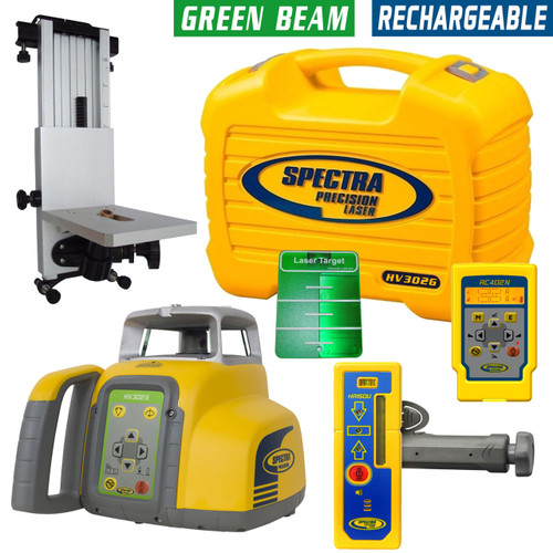Spectra Precision HV302G-2 Green Beam Laser Exterior Package