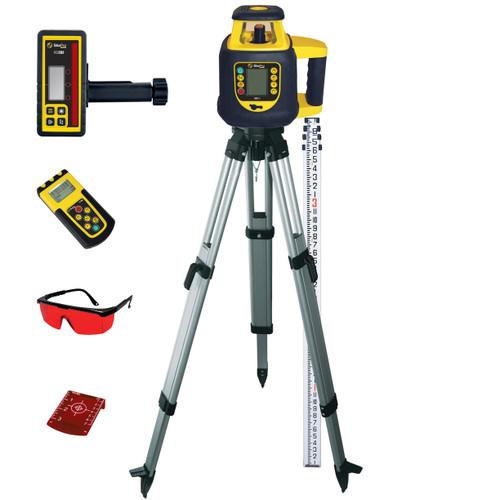SitePro SLR202GRK-C DUAL DIAL-IN Gade Rotary Laser Package