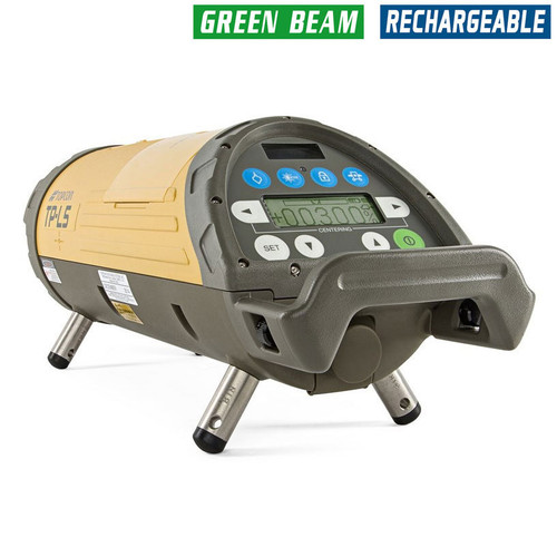 Topcon TP-L5G Pipe Laser Package - GREEN Beam with LED Plumb 329560121 SmartLine