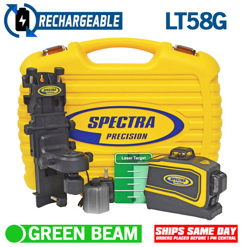 Spectra Precision LT58G Universal Laser Layout Tool with Green Beams