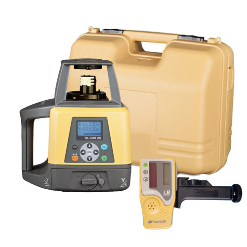Topcon RL-200 2S Dual Slope Grade Laser Package, w/ LS-80L Receiver (314920722)