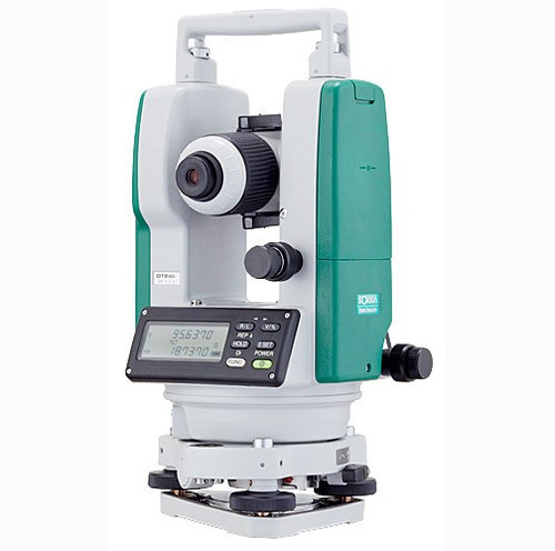 Sokkia DT740 Dual Display Digital Theodolite Kit with 7 Second Accuracy - Model 303226121