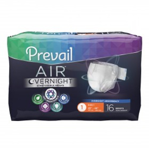 BRIEFS PREVAIL NIGHT SIZE 2 LARGE 45-62in CA/4 x 18 P49 740-NGX-013