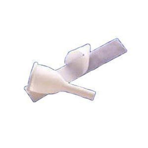 """Rusch Teleflex A1000M Male External Catheter """"Golden Drain"""" w/tape, Medium, 144/Case"""