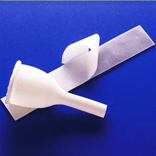 """Rusch Teleflex A1000S Catheter Male External """"Golden Drain"""" w/tape Small 144/case (A1000S)"""