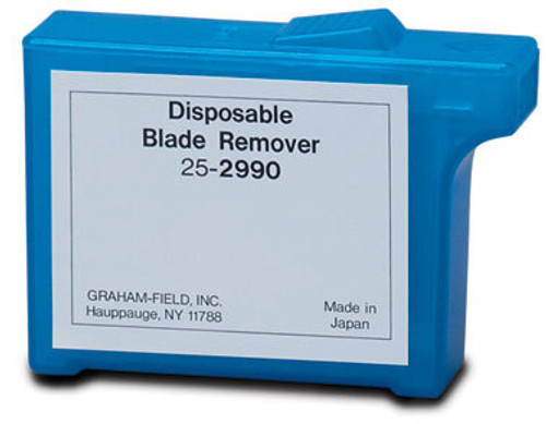 REMOVER SCALPEL BLADE FEATHER BRAND PLASTIC HOLDS 150-300 USED BLADES 139-2990