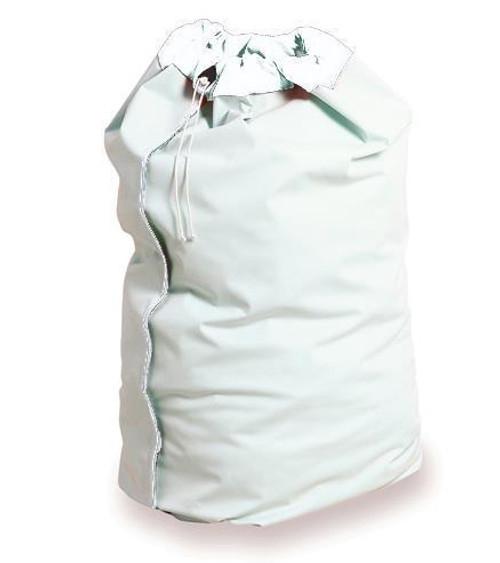 BAG LAUNDRY VINYL w/DRAWSTRING WHITE 30 x 40in 463-LB/10/W