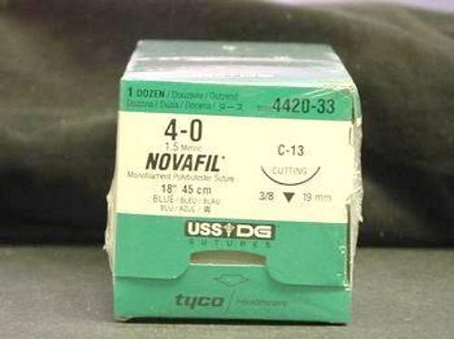 Novafil-8886442033 SUTURE NOVAFIL MONO BLUE 4-0 18in CE-4/C-13 BX/12