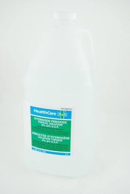 Healthcare Plus HYV-004 Hydrogen Peroxide 10 VOL 3% 4L