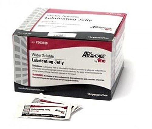 P903100 Lubricating Gel 3gr packets E-Z 144/bx (P903100)
