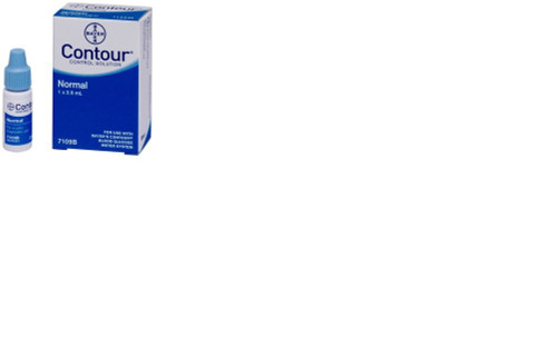 Bayer 6707474 CONTOUR CONTROL SOLUTION NORMAL 2.5ml (7109BB) 119-6707474