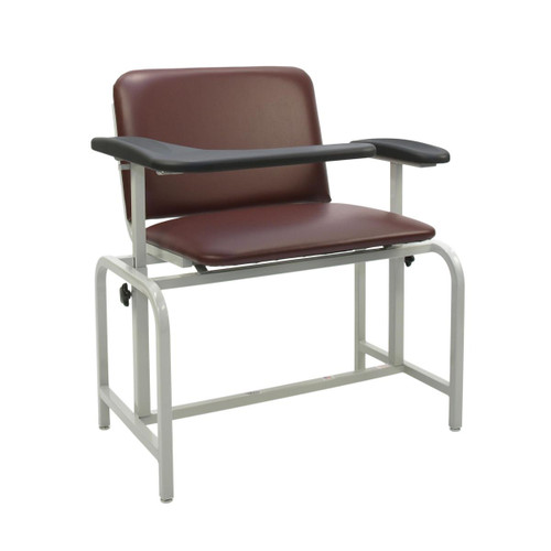 CHAIR BLOOD DRAWING ADJ HT SEAT/ARM X-WIDE PADDED L-ARM TAUPE see notes 408-1202-LU/AH-TAUPE
