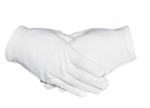 GLOVE COTTON WHITE SMALL 1pr/pkg 465-GEOS