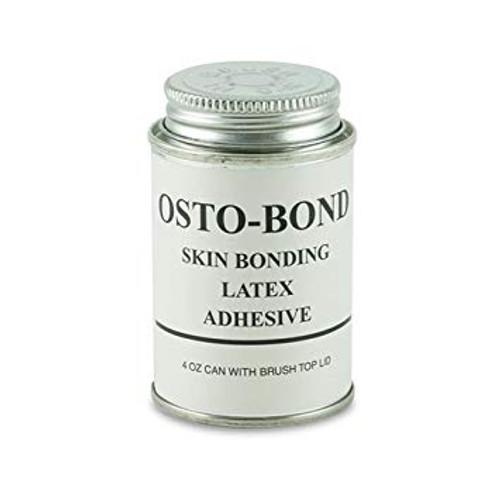 Montreal Ostomy OSTOBOND Skin Bond Latex Adhesive Glue, 4oz