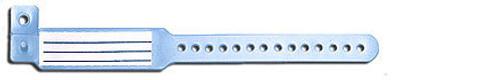 BAND ID INFANT VERI-COLOR INSERT SNAP CLOSE BLUE BX/250 252-110-18-PDJ