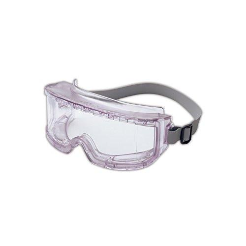 Futura UVXS345c Safety Goggles, Clear Frame, Clear UV extreme Anti-Fog Lens, Indirect Vent, Neoprene Headband
