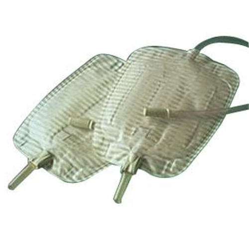 Coloplast 5170 CONVEEN SECURITY+ CONTOUR Leg Bag with FABRIC STRAPS, SIZE 26 OZ (750mL) (COL-5170)