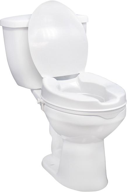 "Raised Toilet Seat with Lock, 4"" (RTL12064)"