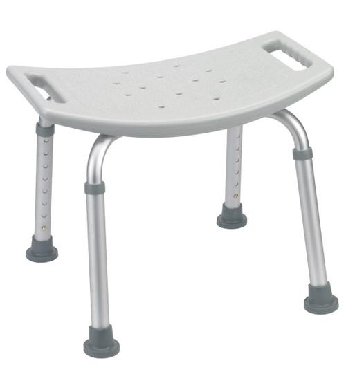 Drive Medical RTL12203KDR Bathroom Safety Shower Tub Bench Chair, Gray