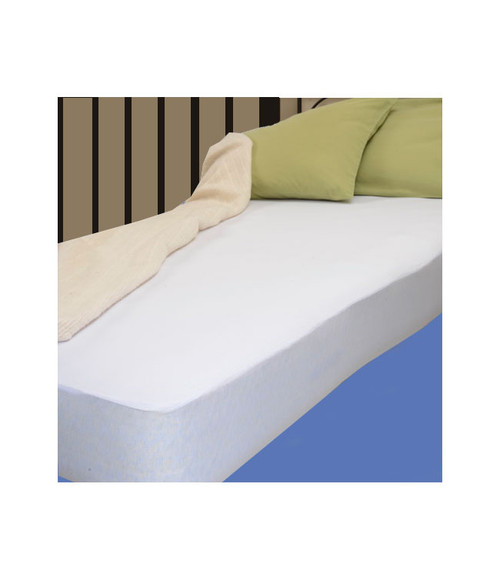 """MOBB HealthCare MHFMP Fitted Mattress Protector, Twin, 39""""x75"""", Each"""