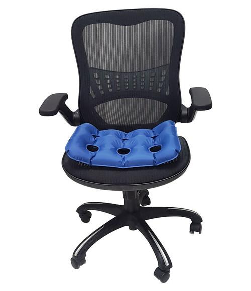 """MOBB Health Care MHASC Anti-Decubitus Air Seat Cushion, 17""""X17""""X2"""", Each"""