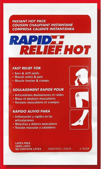 "RAPID AID 43259 COMPRESS INSTANT HOT, 5""X9"", Each"