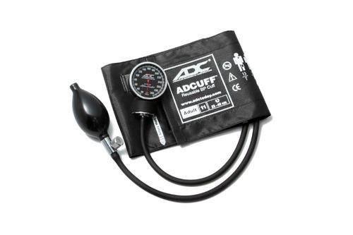 American Diagnostic Corp 720-11ABK Aneroid Sphygmomanometer Diagnostix™ 720 Series Adult Black, Nylon Cuff, 300 mmHg Calibration