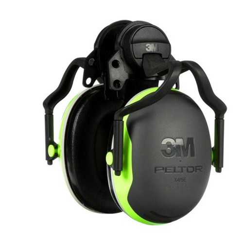 3M HELMET MOUNTED X4P5E HEARING PROTECTORS KASK