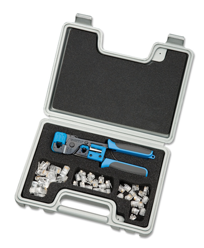Ideal 33-704 Telemaster Kit w/ RJ11 & RJ45 Crimp Tool