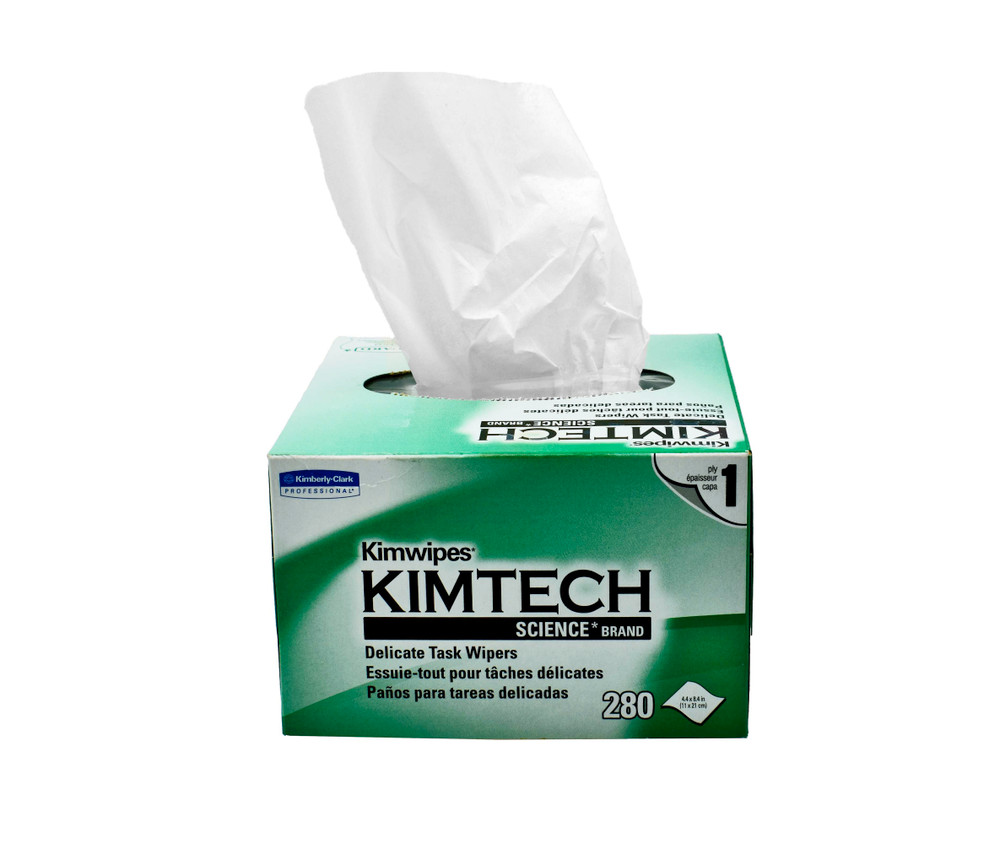 Kimwipes Individual Box, 280 wipes / box