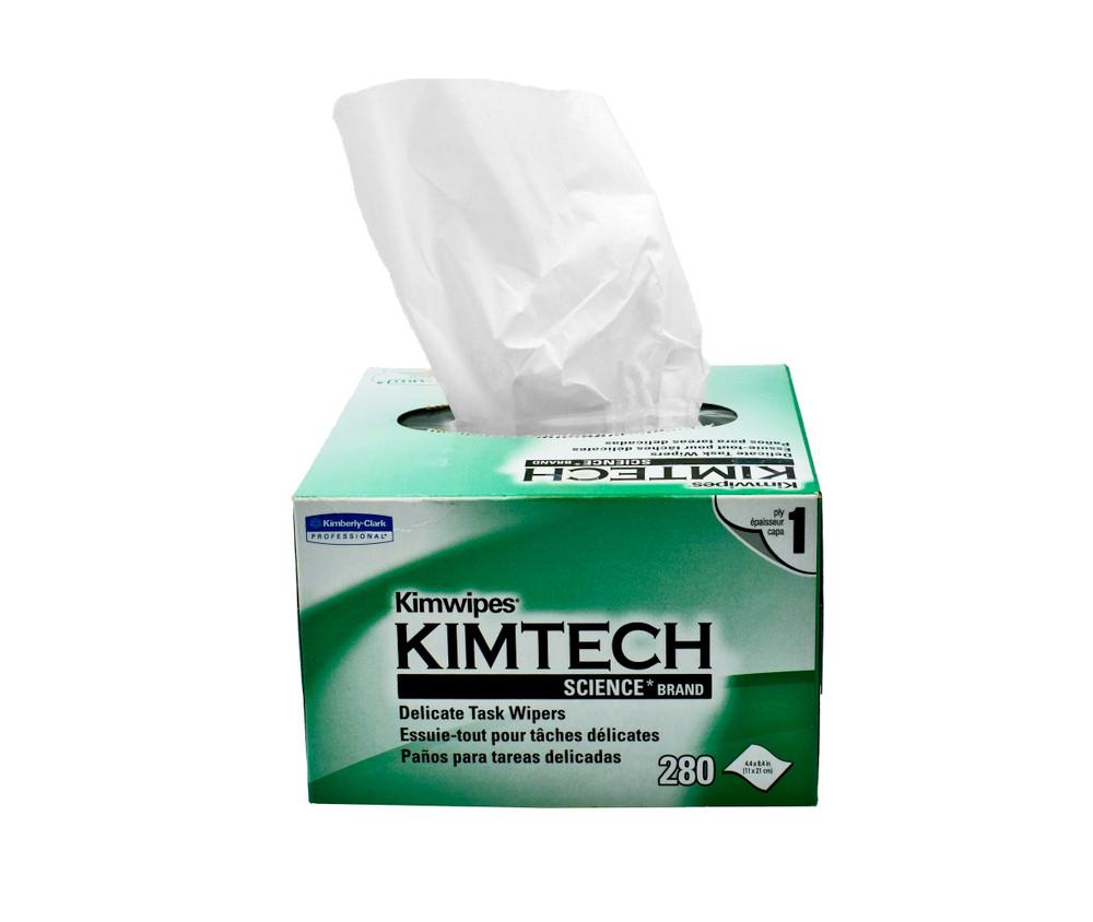 Kimwipes 60 boxes / case, 280 wipes / box