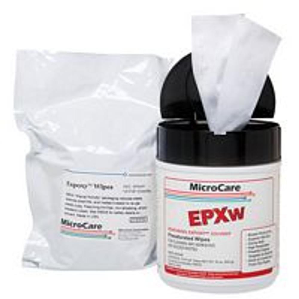 "MicroCare ExPoxy Chip-Bonder Cleaner, Presat Wipe Refill, 100 8""x5"""