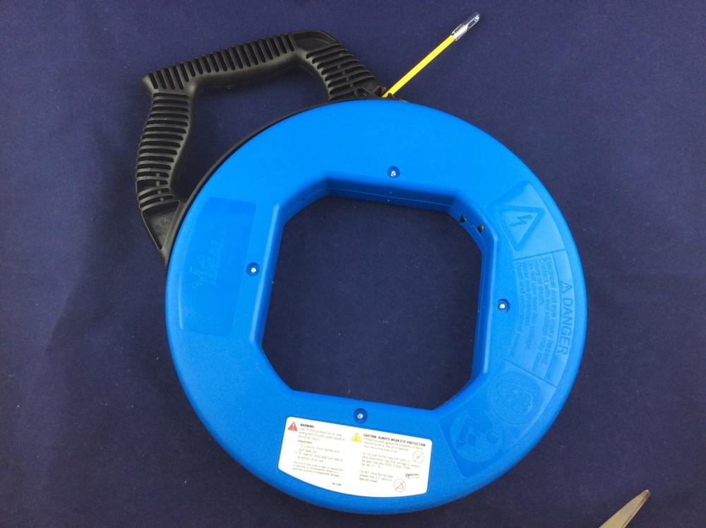 Ideal 31-062 Tuff-Grip Pro S-Class Fish Tape, 50-Ft
