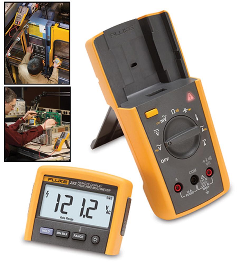 Fluke 233 True RMS Digital Multimeter, Remote Display