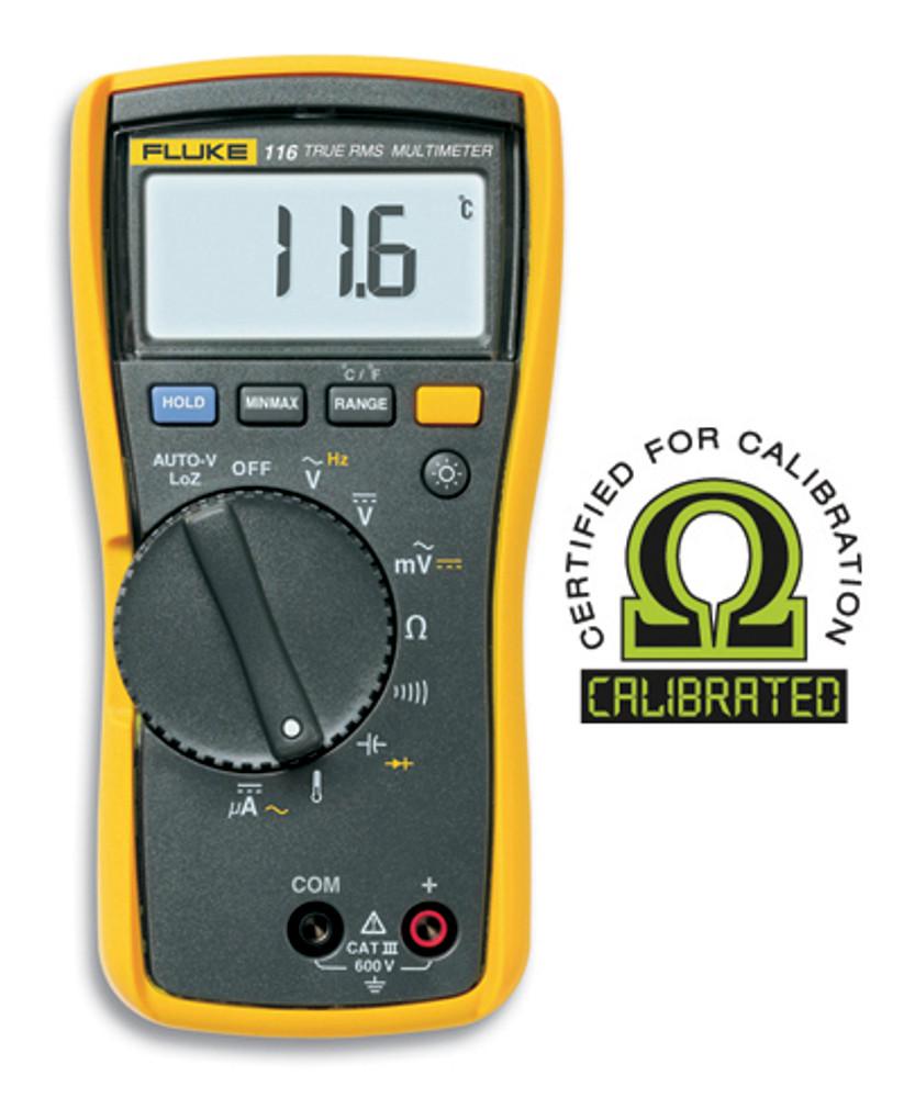 Fluke 116 True RMS Digital Multimeter - Calibrated