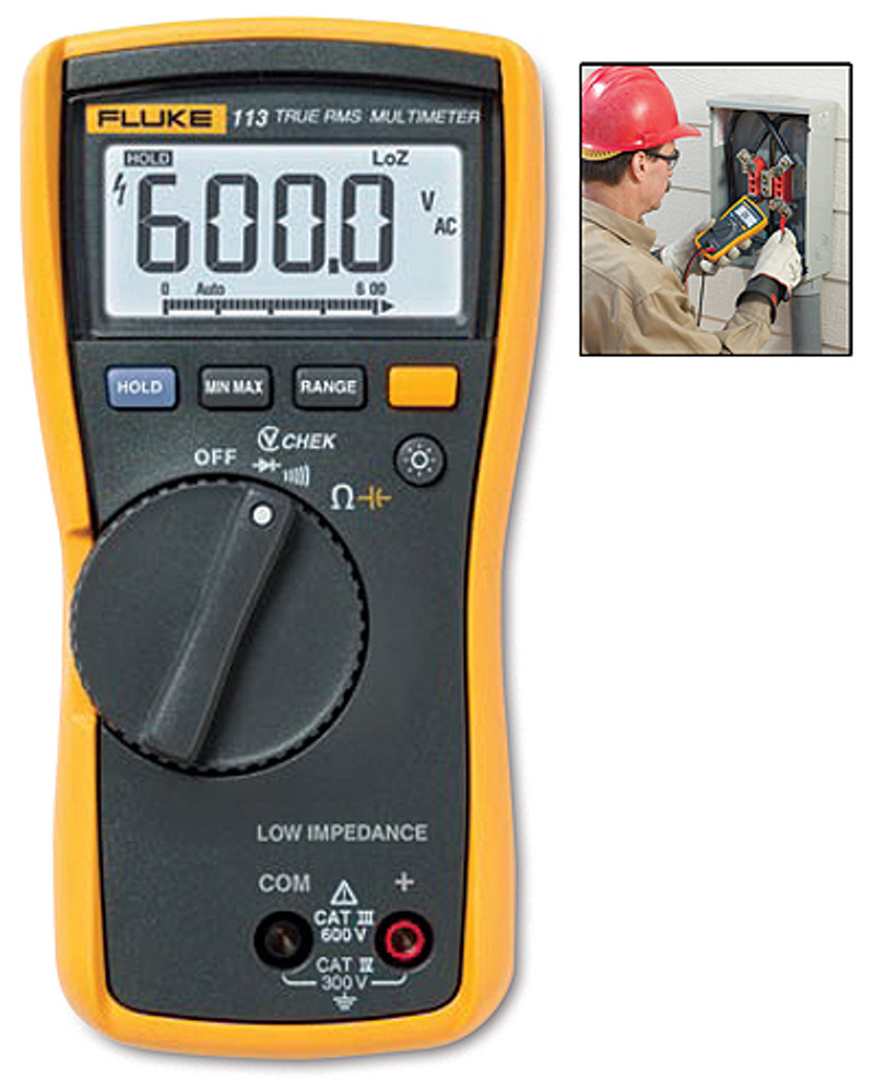 Fluke 113 True RMS Digital Multimeter