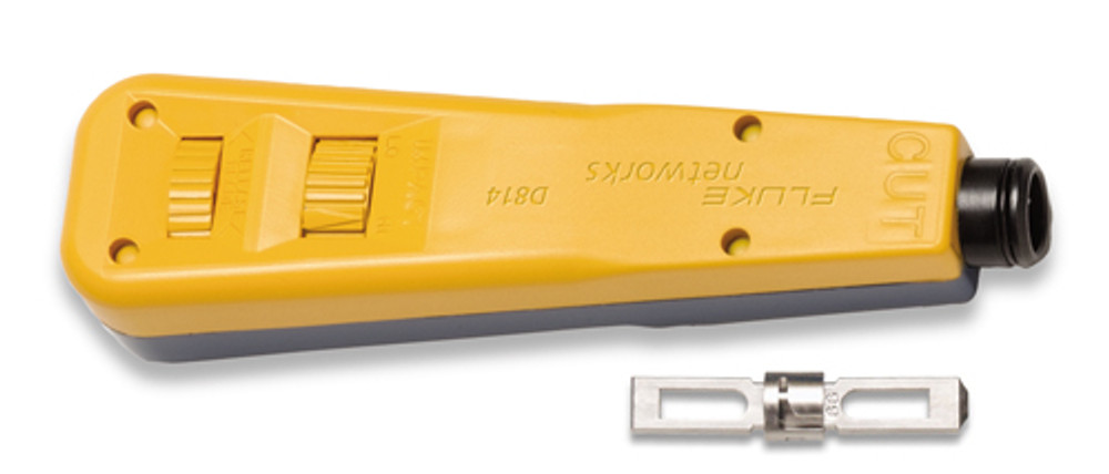 Fluke Networks 10055200 D814 Punch Down Tool, 66 & 110 Blades