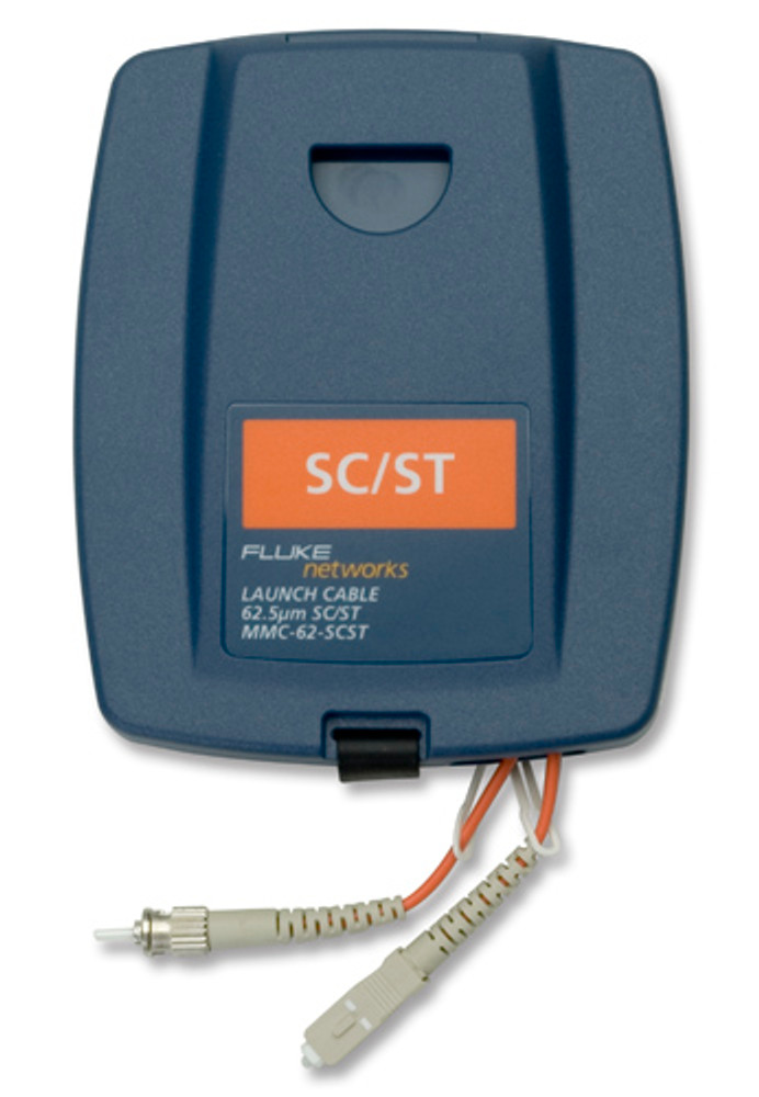 Fluke Networks MMC-62-SCST Multimode SC/ST Launch Cable, 62.5um
