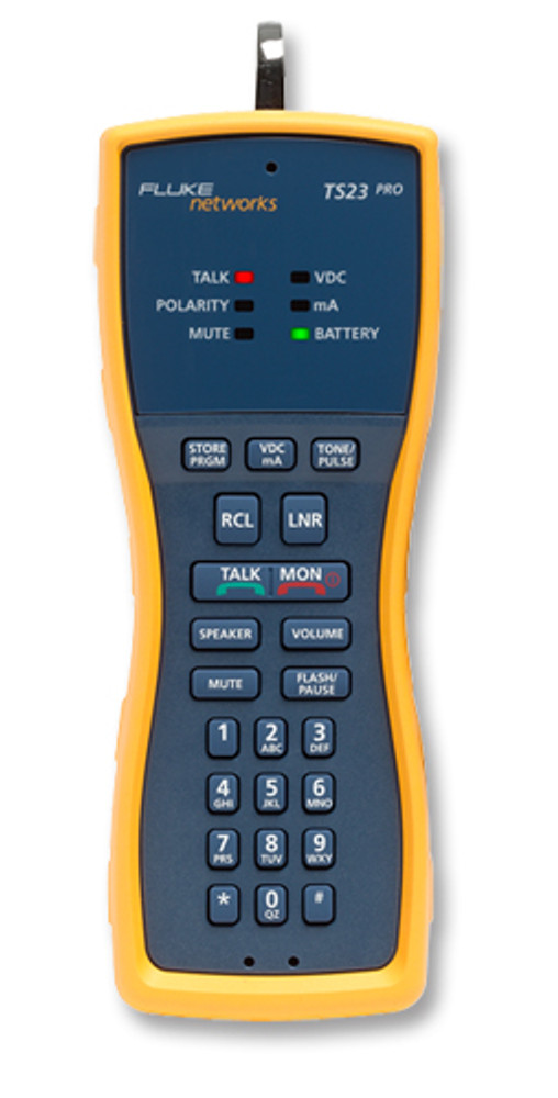 Fluke Networks TS23-BANA Test Set w/Banana & XL Alligator Clips