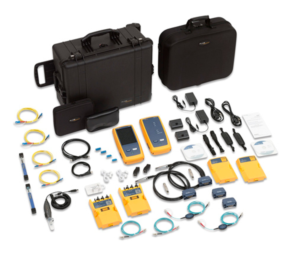Fluke Networks DSX-5000Qi 120 1GHz DSX Cable Analyzer, QUAD OLTS