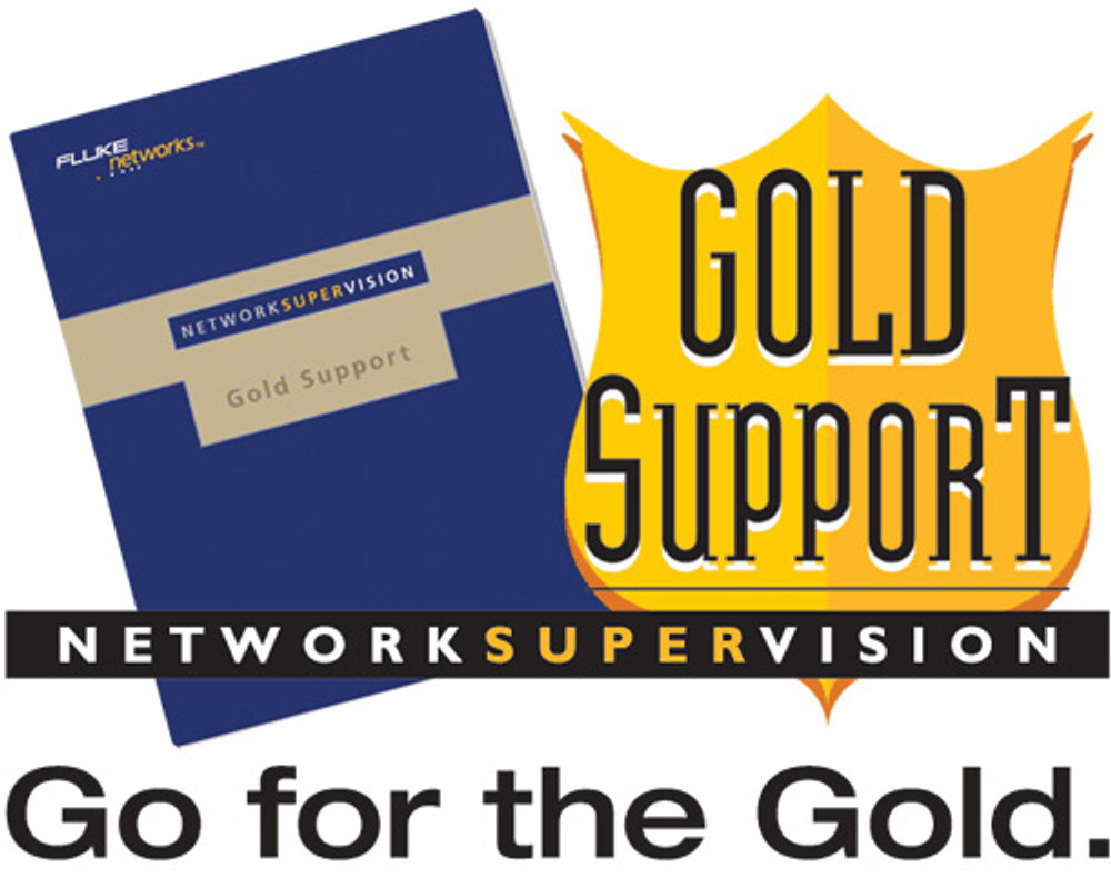 Fluke Networks GLD-NTS2 1-Year Gold Support, NetTool Series II