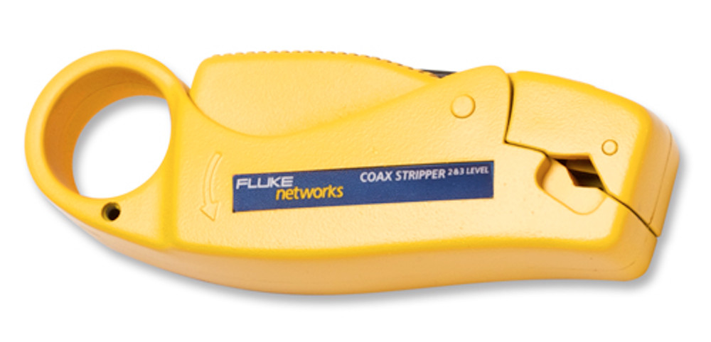 Fluke Networks 11231255 Coax Stripper 2 & 3 Level, RG58/59 Cable