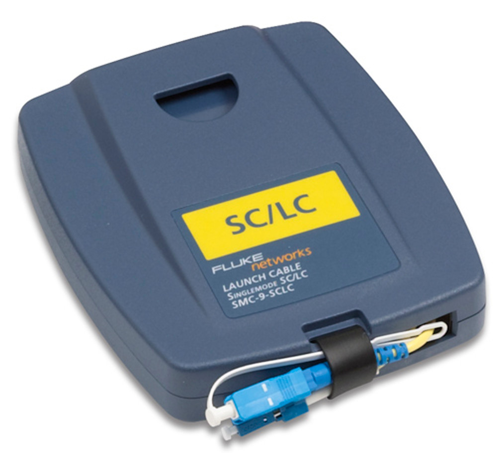Fluke Networks SMC-9-SCLC Single Mode SC/LC Launch Cable, 9um