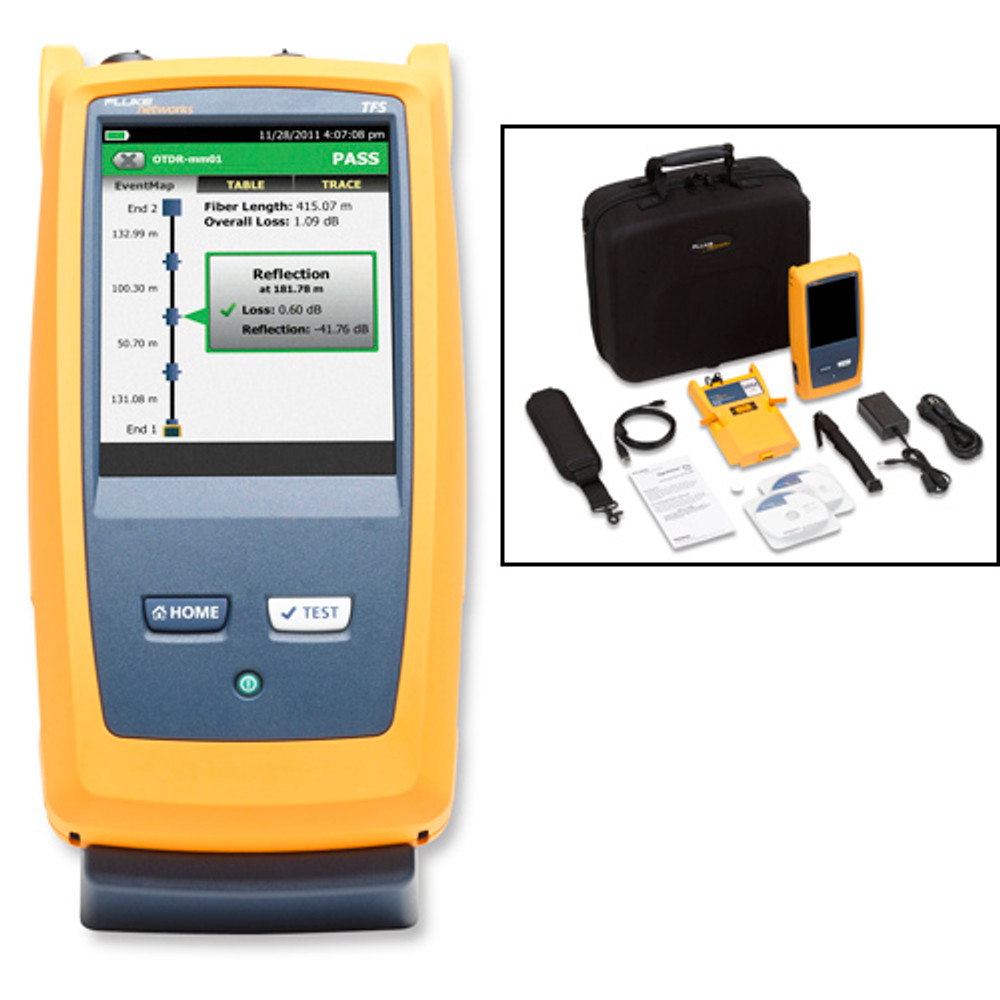 Fluke Networks OFP-100-M OptiFiber Pro Multimode OTDR