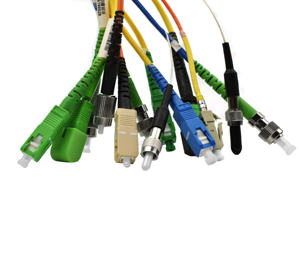 MM Large Core Fiber Patch Cord and Assemblies 400/480 Micron 22FA - Aqua